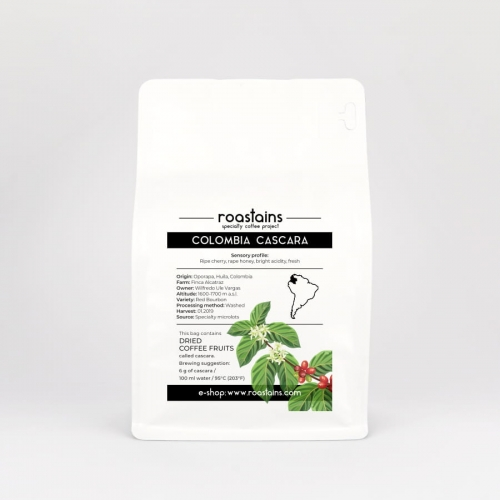 Colombia Cascara z kolumbii coldbrew idealna